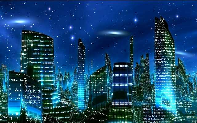 Image - Futuristic-city-at-night.jpg - Tyty109 Universe Wiki