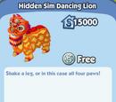 Hidden Sim Dancing Lion