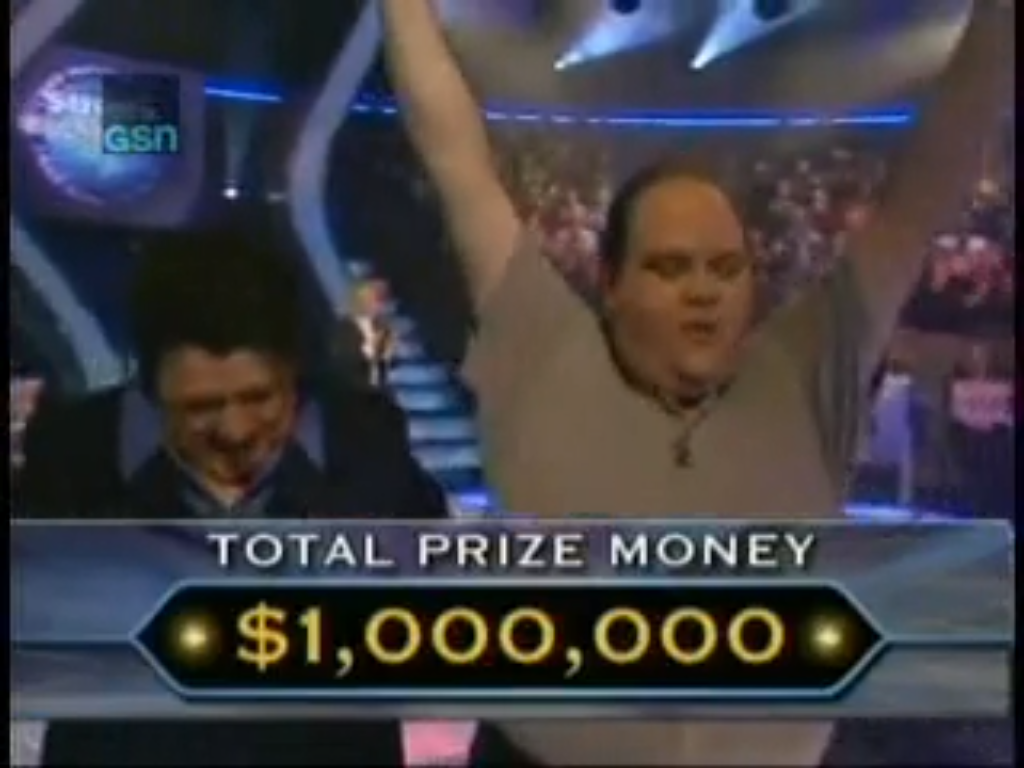 first who wants to be a millionaire winner