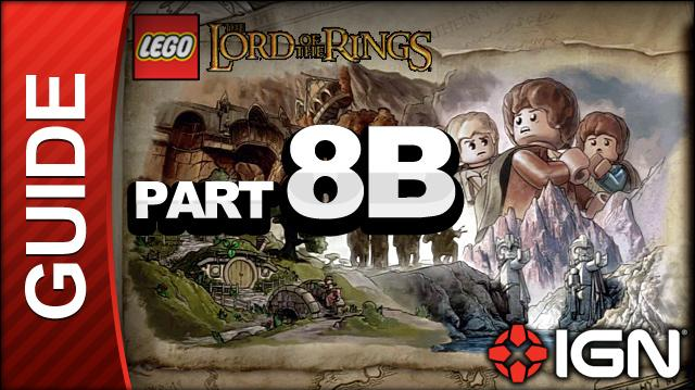 LEGO The Lord of the Rings Walkthrough Part 8B - The Dead Marshes