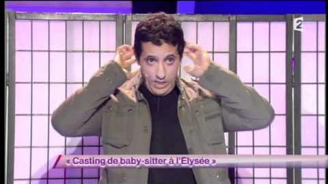 Casting de baby-sitter à l'Élysée