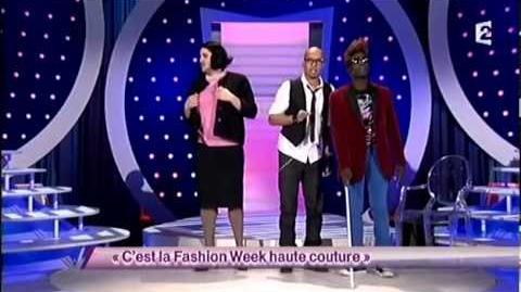 C'est la Fashion Week haute couture