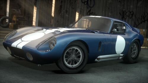 shelby cobra daytona coup at the need for speed wiki need for speed series information. Black Bedroom Furniture Sets. Home Design Ideas
