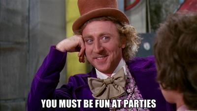 Présentation informelle à la communauté de Chacun_Son_Pays You_must_be_fun_at_parties
