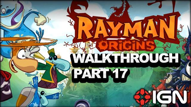 Rayman Origins Walkthrough - Gourmand Land Mending the Rift (Part 17)