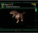 Giganotosaurus (Archivo)