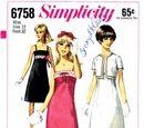 Simplicity 6758 A