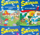 Šmolkovia/The Smurfs: Collection DVD 1 - 4 (Czech And Slovak DVD Release)