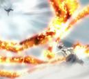 Karmesin-Lotus: Explodierende Flammenklinge