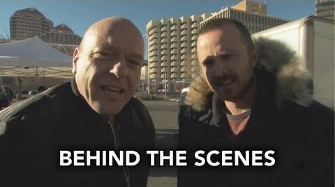 Spinelli313/Behind the Scenes beim Dreh der letzten Folgen