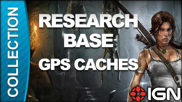 Tomb Raider Walkthrough - GPS Cache Locations Research Base
