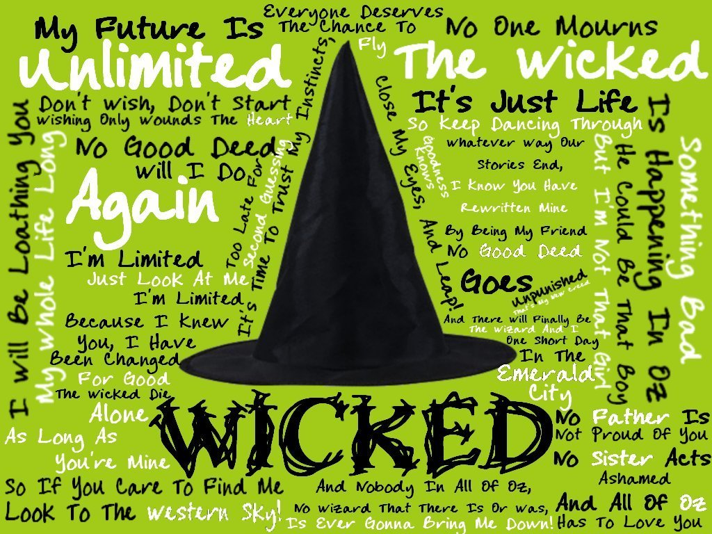 when meet the wizard wicked lyrics