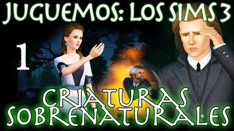 Juguemos Los Sims 3 Criaturas Sobrenaturales (Parte 1 Review) Let's Play en español-2