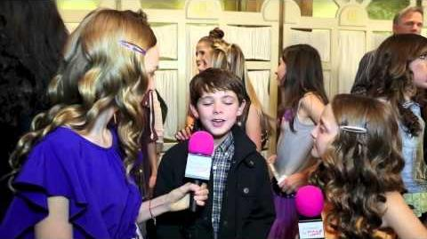 ABC TV Show The Neighbor Actor Max Charles Interviewat the 2nd Annual ASPCA Rock N Roll Benefit