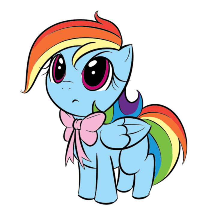 Image - FANMADE Filly Rainbow Dash.jpg - My Little Pony ...