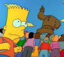Bart köpft Oberhaupt