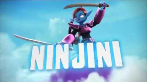 "Meet The Skylanders - Ninjini ""Any Last Wishes?"" Official Trailer"