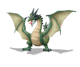 Forest Wyvern Here Be Monsters Wiki