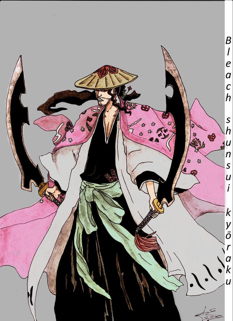 Image - Bleach shunsui kyoraku by sosolcrean15-d5kn7c8.jpg ...