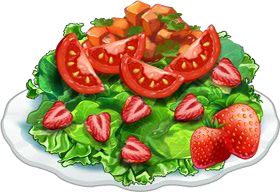 Recipe-Strawberry Salsa Salad