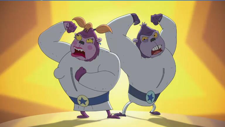 Space Gorillas - Rocket Monkeys Wiki