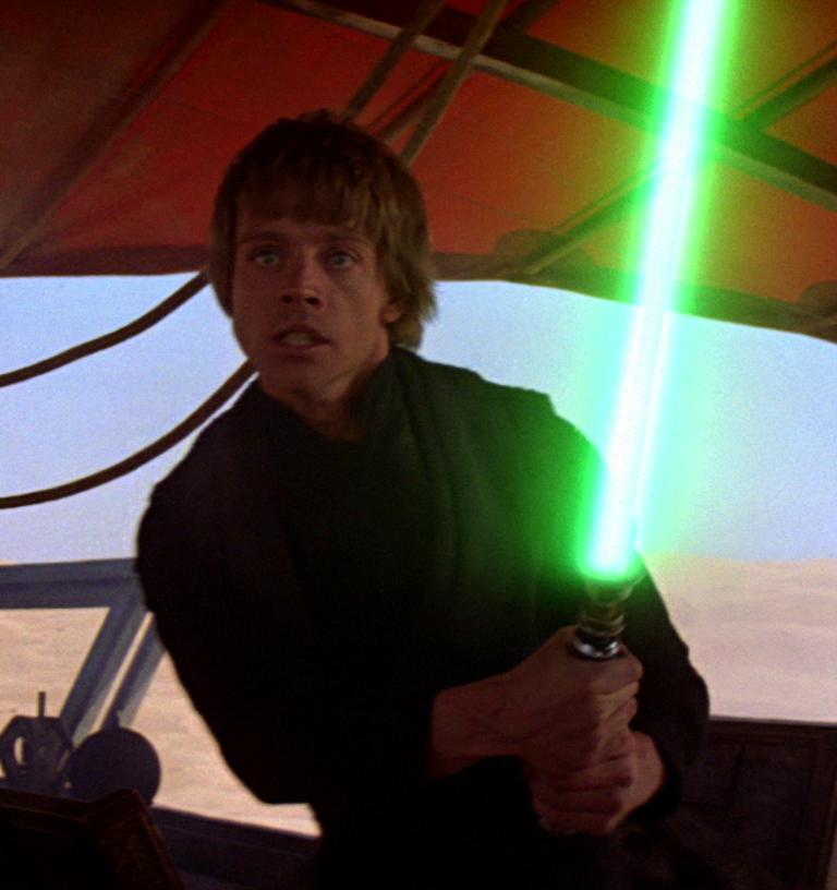Luke Skywalker's lightsaber - Wookieepedia, the Star Wars Wiki
