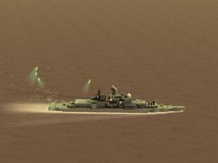 Sovremennyy-Class Destroyer (Soviet Guided Missile Destroyer)