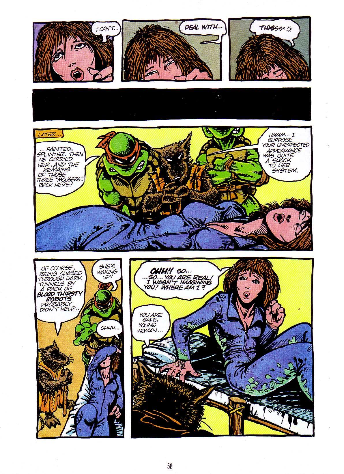 Teenage Mutant Ninja Turtles issue 2 (Mirage) - TMNTPedia