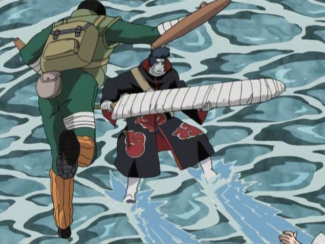 Rock Lee  Lee_Vs_Kisame