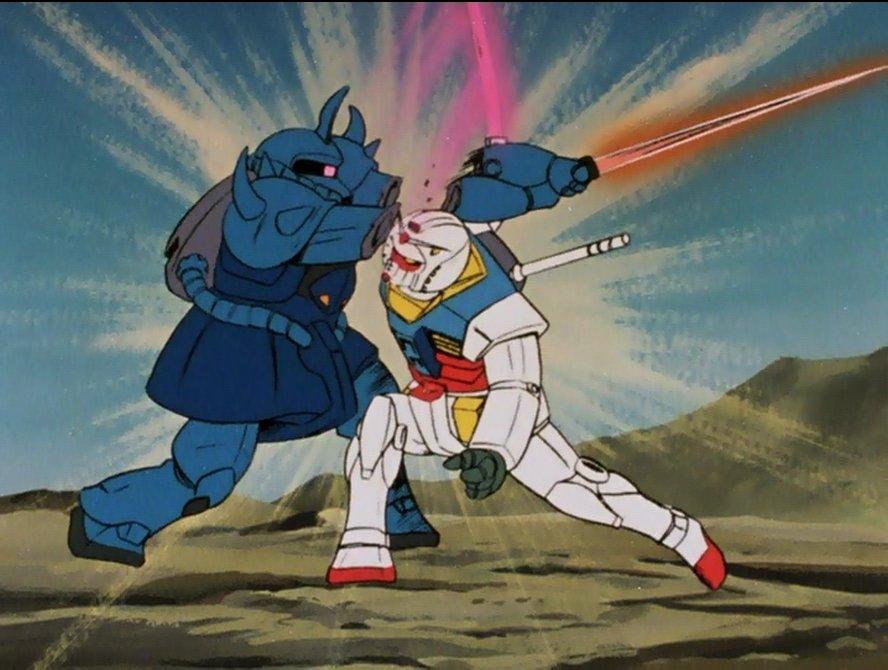 Gundam For The Barrel: Ramba Ral's Attack