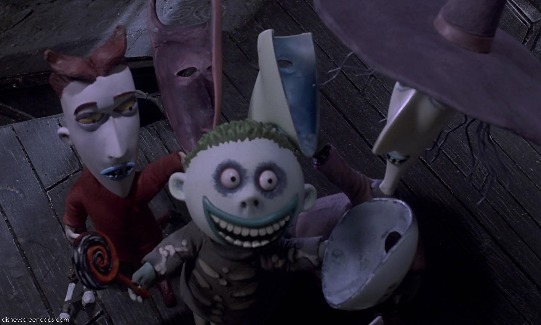 The Nightmare Before Christmas |Nightmare Before Christmas Characters Barrel