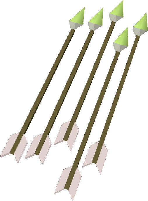 how to make ogre arrows