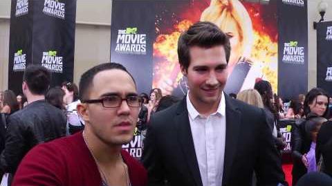 Carlos Pena & James Maslow Interview - 2013 MTV Movie Awards