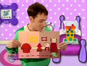 blues clues eps 4 what experiment does blue want to try