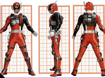Image - SPD Red Ranger Swat Mode.jpg - Power Rangers Wiki