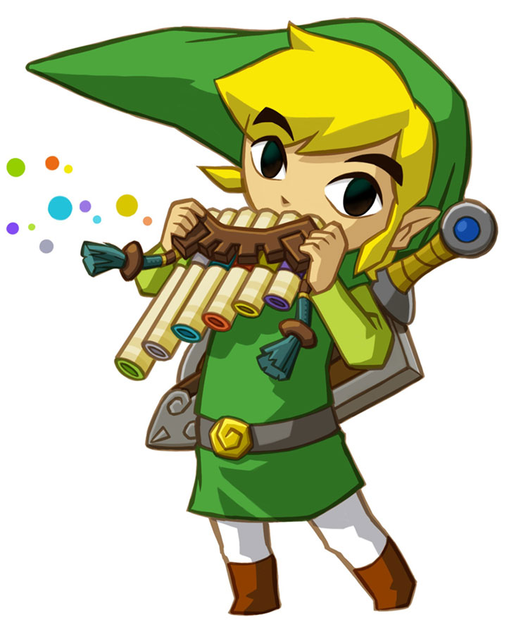 Just give him his own move  Toon Link Wind Waker