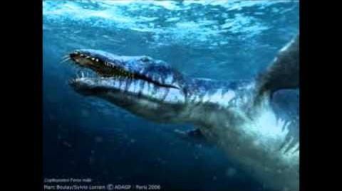 Liopleurodon vs Megalo...