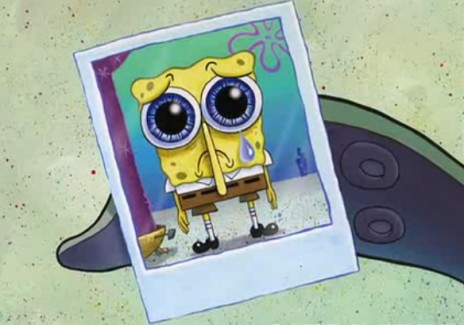 embarrassed spongebob - photo #25