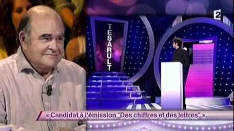 """Candidat à l'émission """"Des chiffres et des lettres"""""""