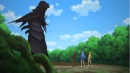 Girls facing the monster.png