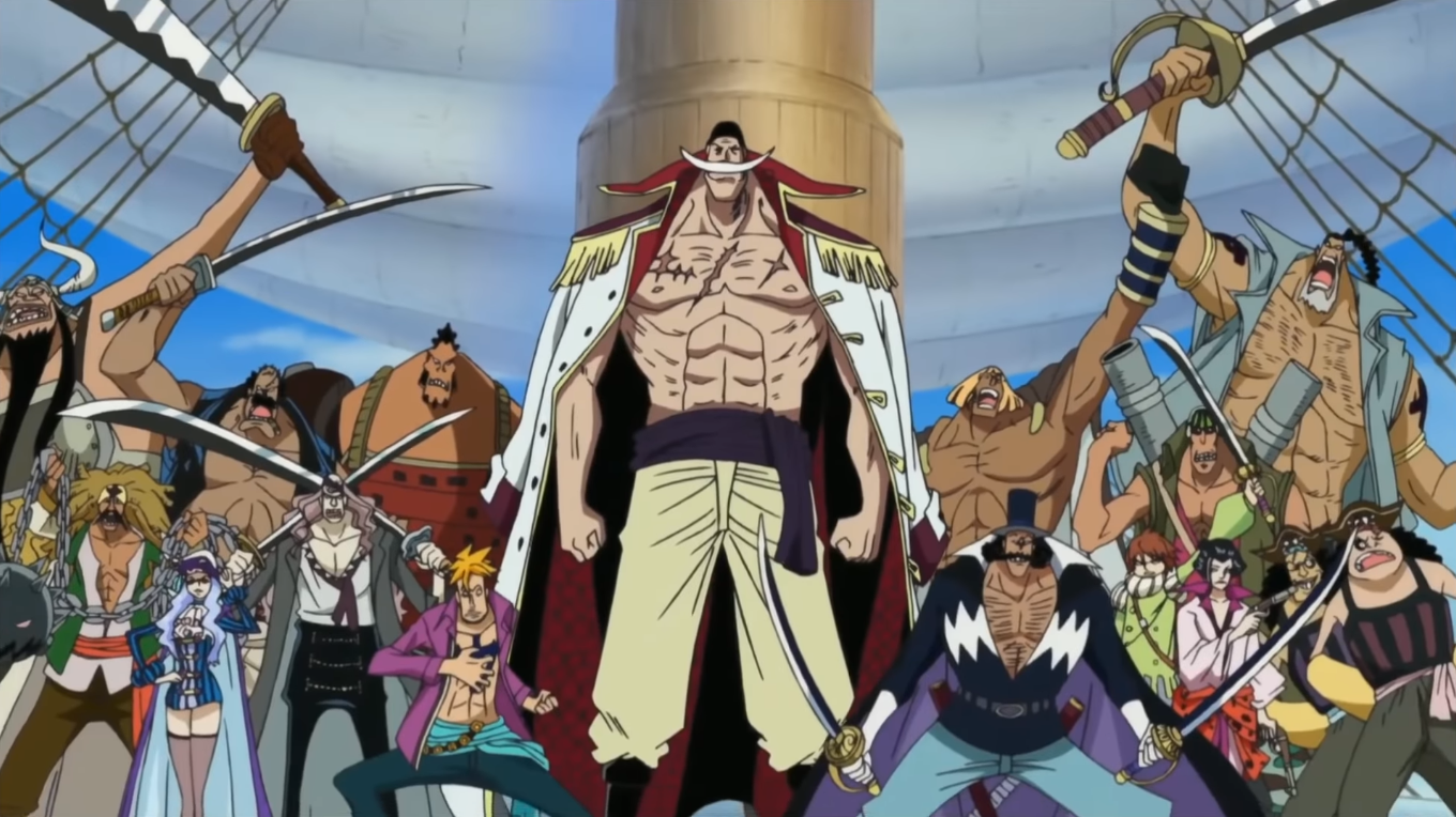 Whitebeard Pirates - The One Piece Wiki - Manga, Anime ...