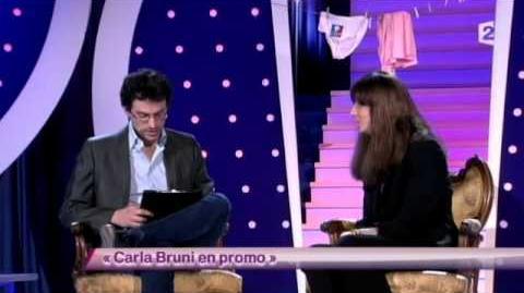 Carla Bruni en promo