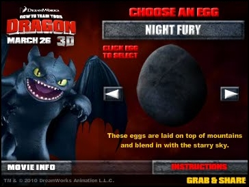 Pictures Of How To Train Your Dragon Monstrous Nightmare Egg