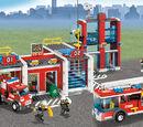 7208 La caserne des pompiers