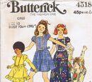 Butterick 4518 A