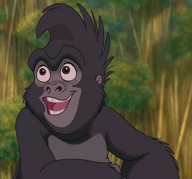 Terk the united organization toons heroes wiki - Tarzan gorille ...