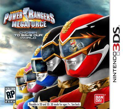 power ranger megaforce game
