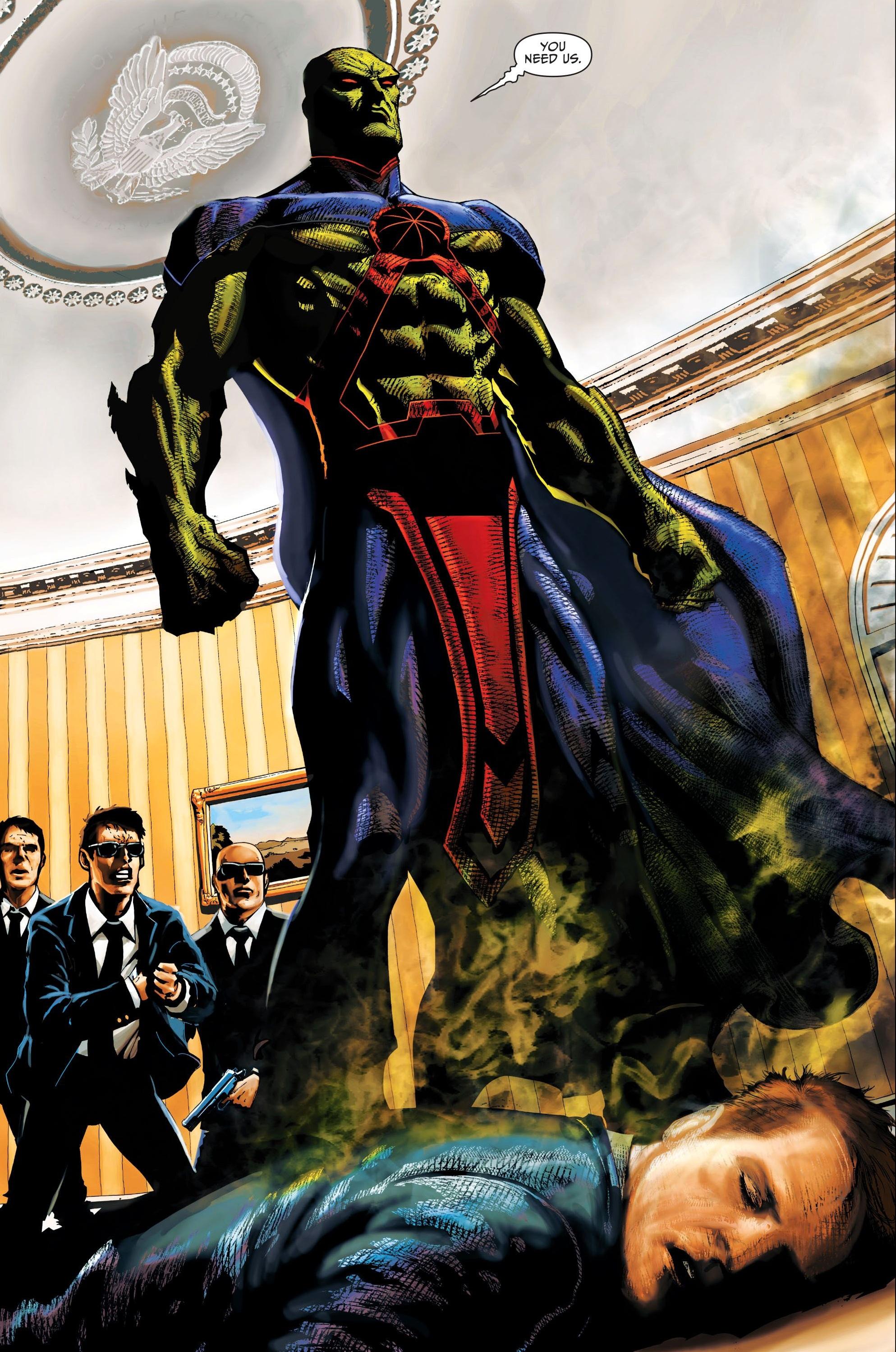 Superman Vs. Detective Marciano J'onn_J'onzz_028