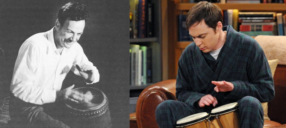 Richard feynman bongos