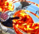 Flügelangriff des Feuerdrachen